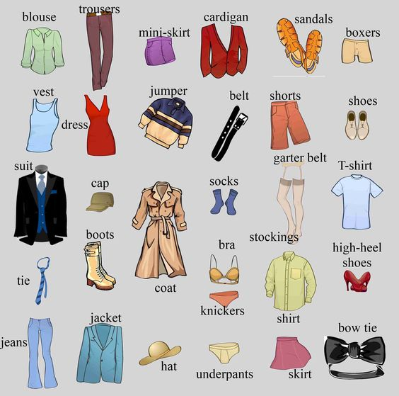 vocab-clothes