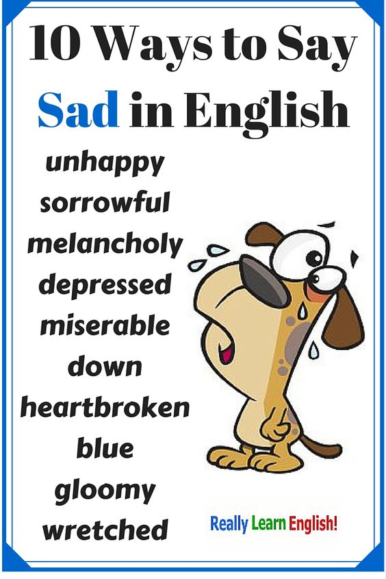 vocab-sad