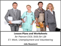 Pearson ESOL E1 Work, Unemployement & Volunteering