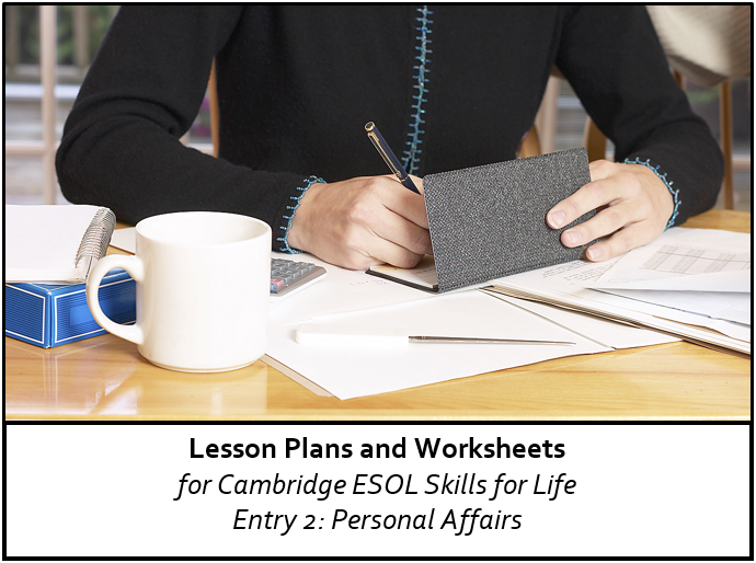 cambridge esol e2 personal affairs resource pack efl resources. Black Bedroom Furniture Sets. Home Design Ideas