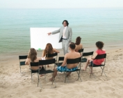 Lesson on Beach