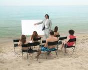 Lesson on Beach