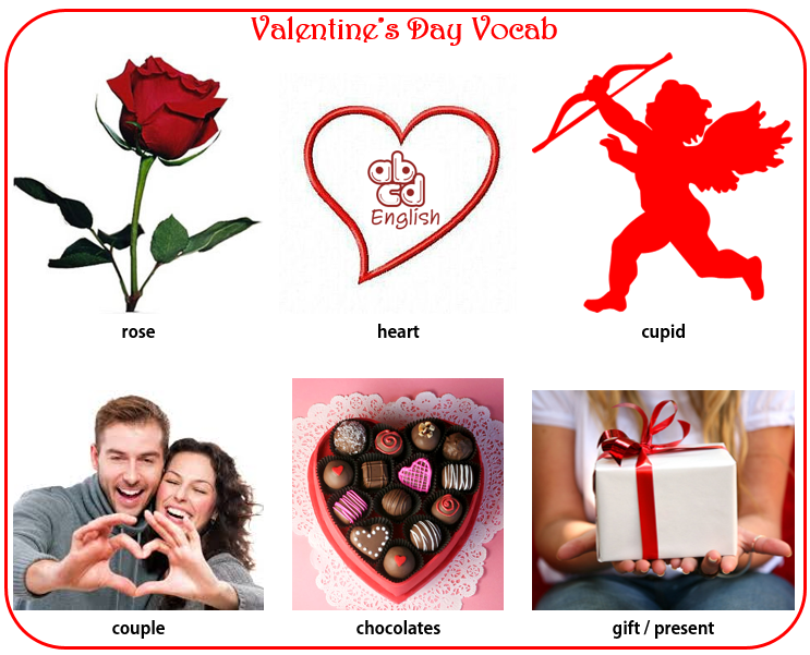 Valentine's Images for your EFL Lesson Today